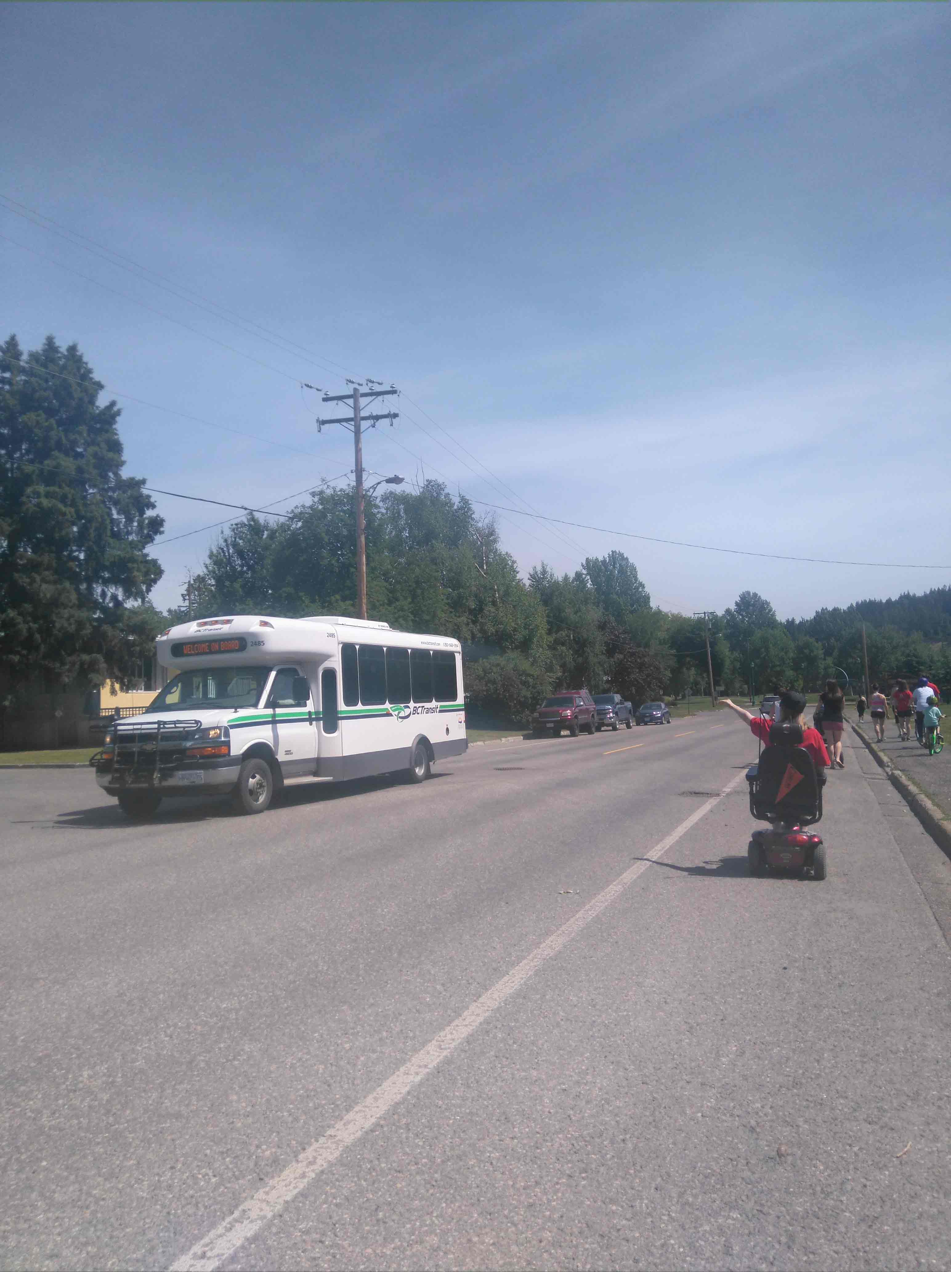 Passing the MS walk June 2016 in Prince George BC