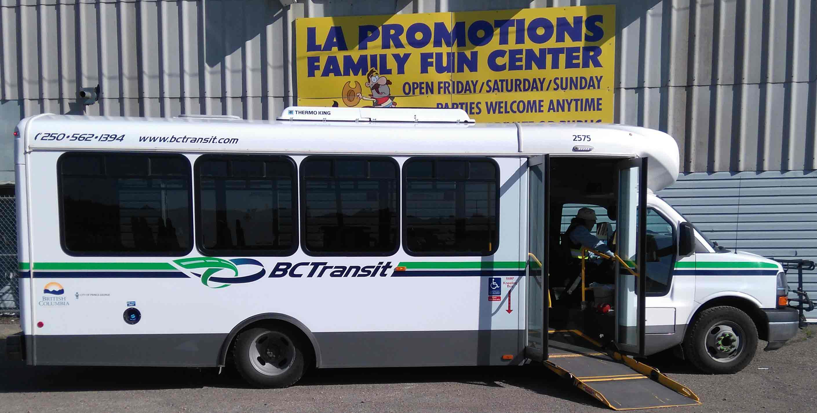 Bus at Family Fun Centre,  PG Rolladome